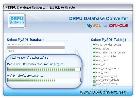Windows 7 MySQL to Oracle 4.0.1.6 full